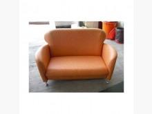[全新] 宏品二手~新小淘氣雙人皮沙發雙人沙發全新
