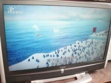 [9成新] 黃阿成~東芝37型液晶電視電視無破損有使用痕跡