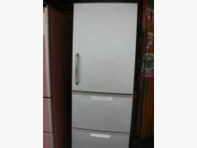 [9成新] 黃阿成~東芝345公升三門冰箱冰箱無破損有使用痕跡