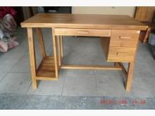 [全新] 樂居二手傢俱館 柚木書桌書桌/椅全新