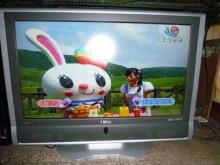東元37吋液晶色彩鮮艷畫質佳電視有輕微破損