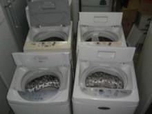 [8成新] 聲寶7公斤洗衣機三個月保固洗衣機有輕微破損