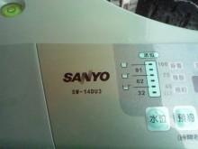 [9成新] 黃阿成~三洋14公斤變頻洗衣機洗衣機無破損有使用痕跡