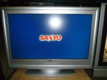 [8成新] 三洋32吋液晶色彩鮮艷畫質佳電視有輕微破損