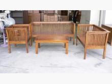 [全新] 日式柚木沙發椅 實木客廳桌椅木製沙發全新