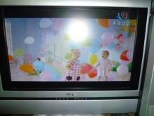 [8成新] 三洋21吋液晶色彩鮮艷畫質清晰電視有輕微破損