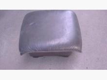 [9成新] 咖啡色乳膠皮沙發凳其它沙發無破損有使用痕跡