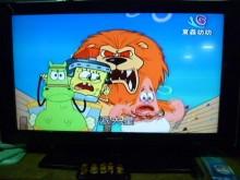 東元品牌液晶色彩鮮艷畫質佳電視有輕微破損