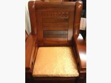 [全新] B2聚合棉緹花布坐墊 底部止滑木製沙發全新