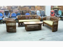 [全新] 樂居二手*TK2019全新日式禪木製沙發全新