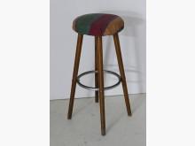 美式 古董 高腳椅 吧台椅椅子有輕微破損