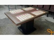 [9成新] 四人餐桌含強化玻璃單買500餐桌無破損有使用痕跡