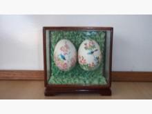 [9成新] OK二手跳蚤市場-手繪彩蛋玻收藏擺飾無破損有使用痕跡