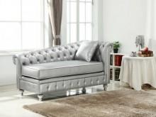 [全新] 香榭銀色皮貴妃椅 現價12800沙發床全新