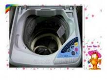 [8成新] 清洗內槽~三洋小型洗衣機洗衣機有輕微破損
