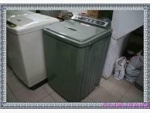 [8成新] 聲寶中型不銹鋼洗衣機9.5公斤冰箱有輕微破損
