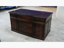 [8成新] 宏品~LG957*雞翅木高級書桌桌子有輕微破損