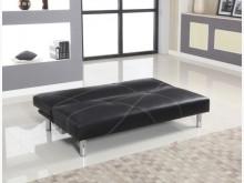 801205-2黑皮沙發床沙發床全新