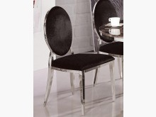 [全新] 不鏽鋼框利世黑絨餐椅3500餐椅全新