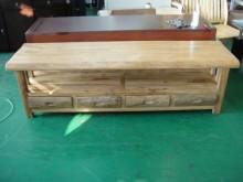 [全新] ZN105*庫存原木樟木電視櫃電視櫃全新