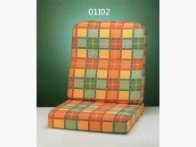 [全新] I02印花布椅墊 滿7片免運費木製沙發全新