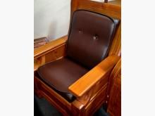 [全新] 深咖啡色皮小組椅墊 滿7片免運費木製沙發全新
