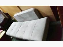 仿絨布雙人沙發沙發床近乎全新