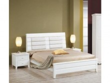 [全新] 傢具小達人~維恩白色5尺雙人床架雙人床架全新