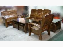[全新] 樂居二手*ZH899 全新樟木實木製沙發全新
