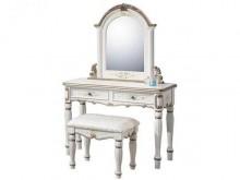 [全新] 伊麗莎白3.5尺鏡台~含椅鏡台/化妝桌全新