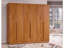 文森原木2.5尺單吊衣櫥*圖中衣櫃/衣櫥全新