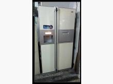 [8成新] 幾乎全新對開冰箱~直接取冰塊和飲冰箱有輕微破損