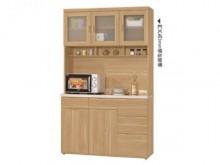 [全新] 維克多4尺石面收納櫃碗盤櫥櫃全新