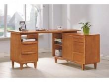 [全新] 文森原木全實木5尺功能書桌書桌/椅全新