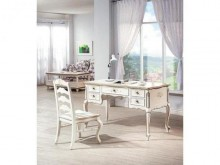 [全新] 伊麗莎白歐式4.6尺書桌書桌/椅全新