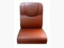 [全新] 頭枕型淺咖雲彩皮椅墊 滿7片免運木製沙發全新