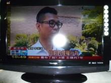 [8成新] 李太太~優派32吋液晶色彩鮮艷電視有輕微破損