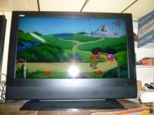 [8成新] 禾聯46吋液晶色彩鮮艷畫質佳電視有輕微破損
