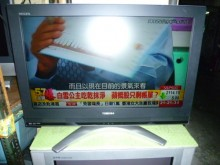[8成新] 東芝32吋液晶色彩鮮艷畫質清晰電視有輕微破損