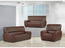 [全新] 833咖啡厚皮沙發全組19900多件沙發組全新