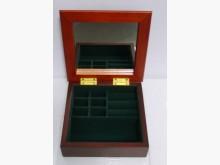 精緻純手工打造原木小珠寶箱收藏擺飾全新