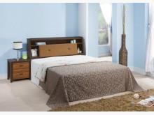 [全新] 5尺黃金雙色床頭箱特價$5500雙人床架全新