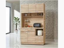 [全新] 和風北原橡木4尺餐櫃12800碗盤櫥櫃全新