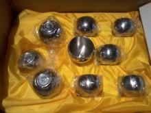 雙層高級不鏽鋼隔熱泡茶杯9個杯子全新