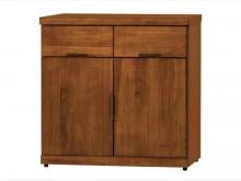 [全新] 凱西柚木2.7尺餐櫃下座收納櫃全新