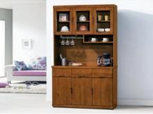 [全新] 凱西柚木4尺餐櫃收納櫃全新
