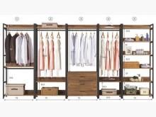 [全新] 漢諾瓦雙吊衣櫥(圖片數字1)衣櫃/衣櫥全新