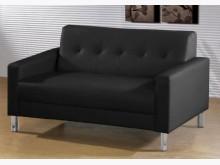 [全新] 約翰黑色雙人沙發雙人沙發全新