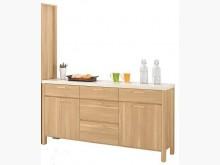 [全新] 波里斯5.2尺石面收納櫃碗盤櫥櫃全新