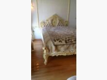[8成新] 力興二手家具行-法式雙人組合床雙人床架有輕微破損
